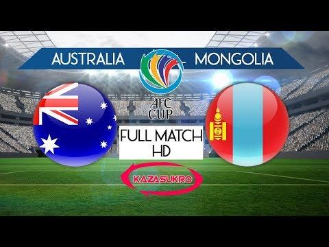 AFC U-16 Championship Qualifiers 2018 Australia VS Mongolia (Full Match HD)