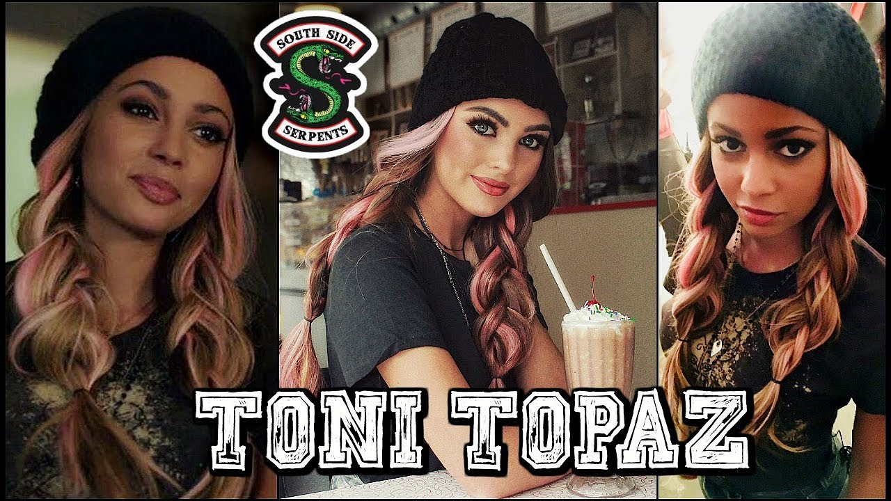 The Cw Riverdale Toni Topaz Makeup Hair Outfit Tutorial Youtube