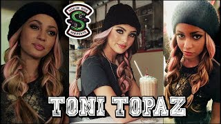 the cw RIVERDALE Toni Topaz Makeup Hair & Outfit Tutorial