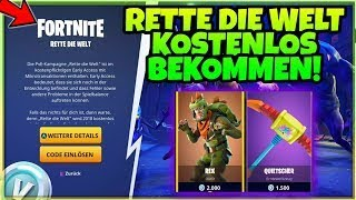 How to get Fortnite Save the World for free!!!!