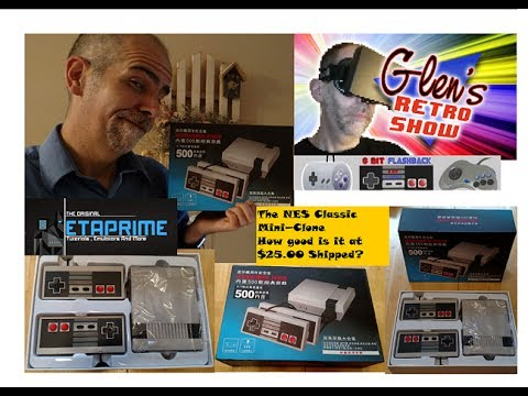 A NES Classic Mini Clone with 500 Games? for $25.00?! What!?!?