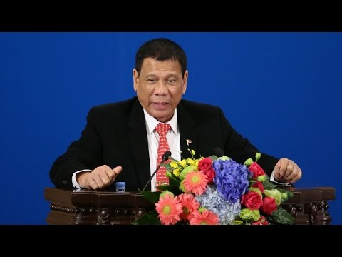 Duterte says he's done with the US