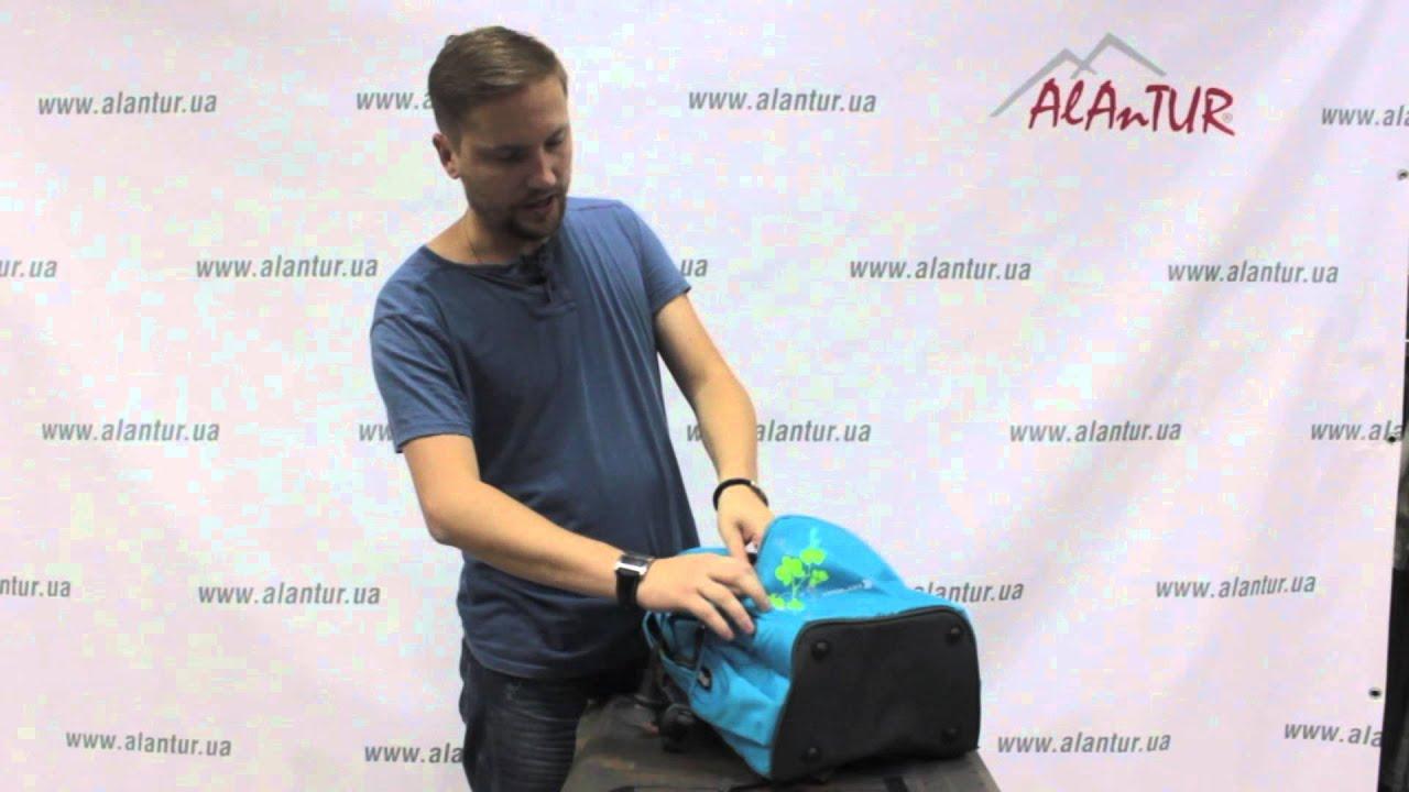 Рюкзак Deuter ACT Lite 65+10. Обзор модели - YouTube