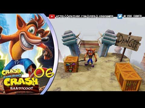 I AM THE DANGER. EL PUENTE MALDITO #07 - Crash Bandicoot con Kai - [Crash Bandicoot N. Sane Trilogy]