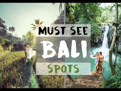 THE MOST AMAZING SPOTS IN BALI YOU HAVE TO SEE!