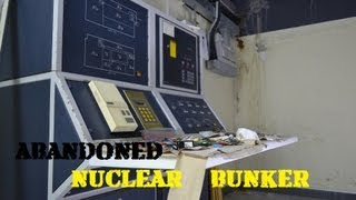 Abandoned/Decommissioned Nuclear Bunker --- Underground