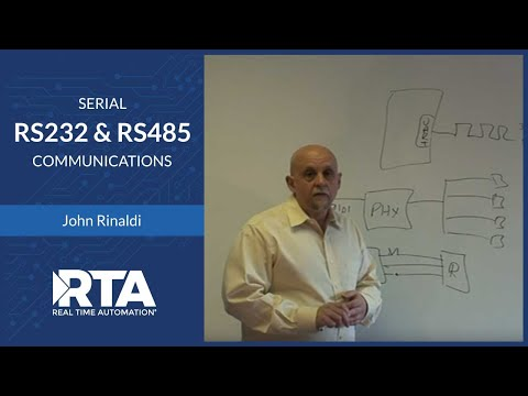 Serial Communication RS232 & RS485