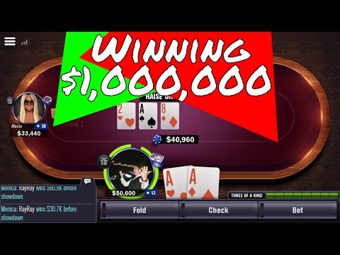 How To Win $1,000,000 + (World Series of Poker) WSOP App Game