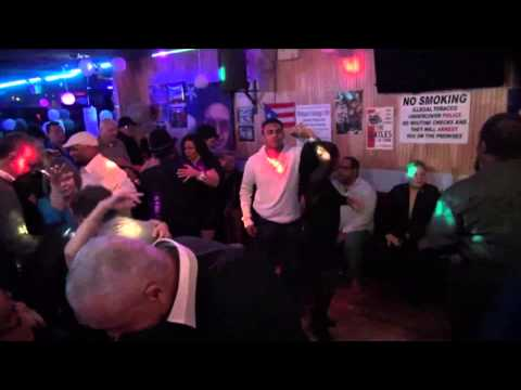 Dj Andy Rodriguez & Host Franklin David Flores at Monique's Lounge 108 video by Jose Rivera 11:29:14