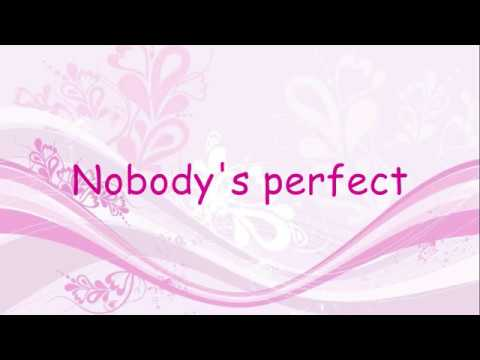 Hannah Montana Nobodys Perfect Lyrics Youtube