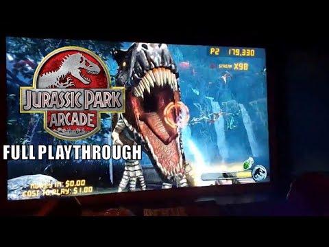 Jurassic Park Arcade- (2 credits) - Full Playthrough