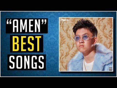 """BEST Rich Brian Songs On """"Amen"""""""