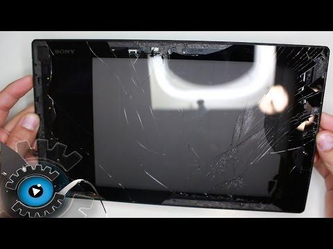 Sony Xperia Z Tablet Glas Display Wechseln Tauschen Reparieren[Deutsch]