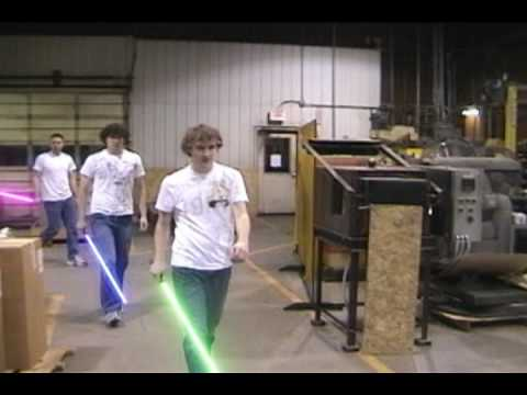 Lightsaber Fight: Theft of the Viridian Crystal