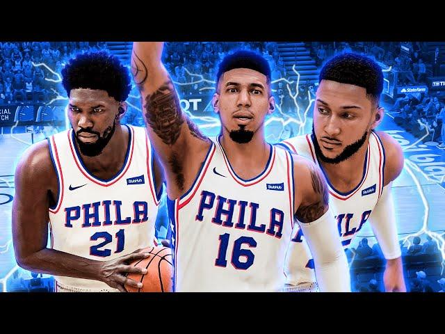 THE *NEW* SIXERS! NBA 2K21 NEXT GEN PLAY NOW ONLINE!