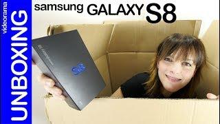 Samsung Galaxy S8 unboxing -versión snapdragon 835-