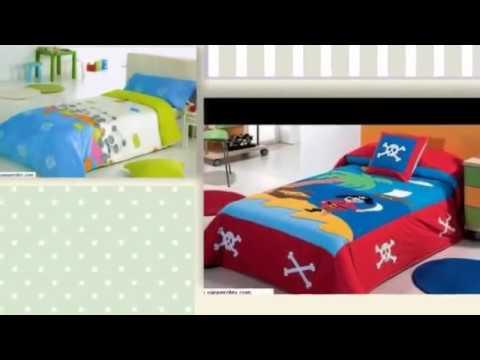 Colchas y edredones infantiles coleccion verano 2012 youtube - Telas para colchas infantiles ...