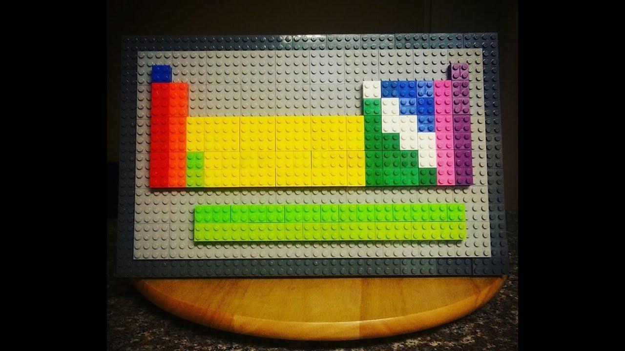 Lego Periodic Table Youtube