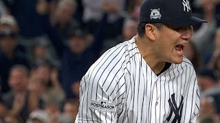 ALCS Gm5: Tanaka K's eight over seven scoreless in Game 5