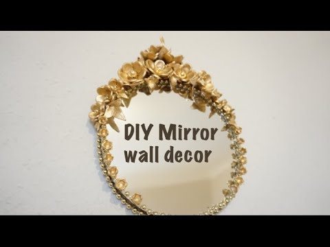 DIY Mirror wall decor ideas  How do you decorate a wall with mirrors