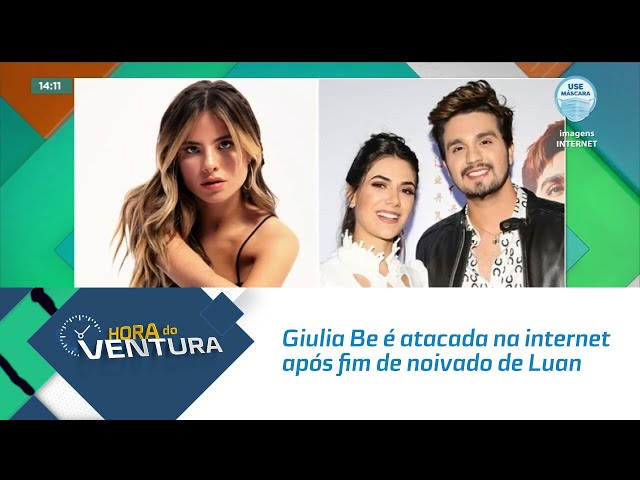 Giulia Be é atacada na internet após fim de noivado de Luan Santana
