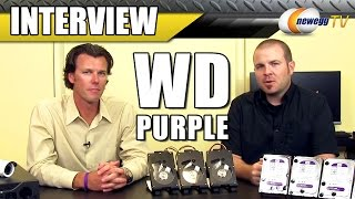 WD Purple Surveillance Storage Interview - Newegg TV