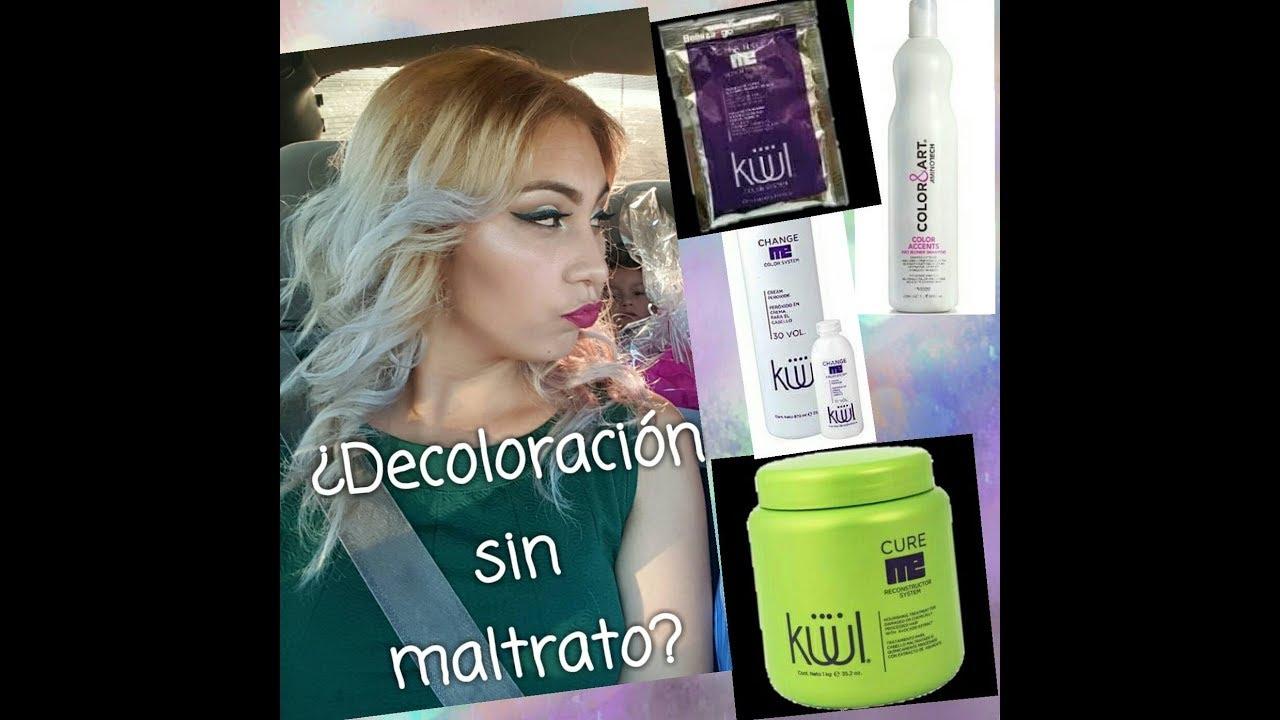 bb6b4eb9bbc Decoloración sin maltratar tu cabello// lavado de color// hazlo tu misma.  by Mercyshop