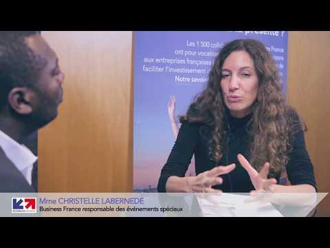 Interview Christelle Labernède (Business France) - par Africa Salons