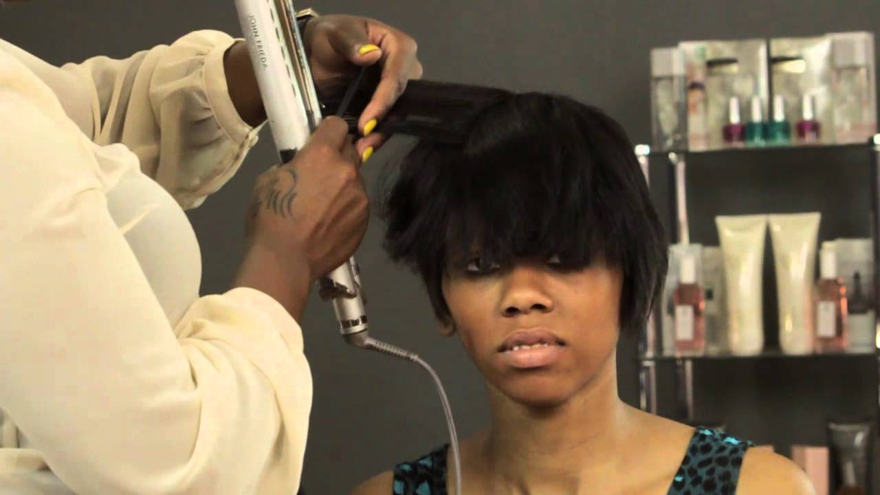 Salon Hairstyles For Short Hair How To Style Short Hair For Black Women Hair Care Maintenance
