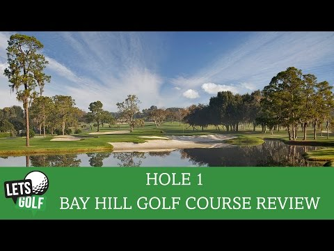 Arnold Palmer's Bay Hill Golf Course Review | Hole 1 @LetsGolfHorley