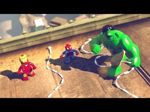 LEGO Marvel Super Heroes #01: O Início - Xbox 360 / PlayStation 3 / Wii U Gameplay HD