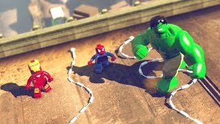 LEGO Marvel Super Heroes #01: O Início - Xbox 360 / PlayStation 3 / Wii U Gameplay HD
