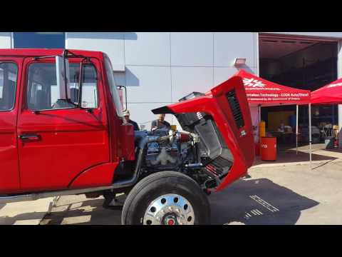"Fanshawe Motive power ""Fast Forward"" Mack truck start and rev"
