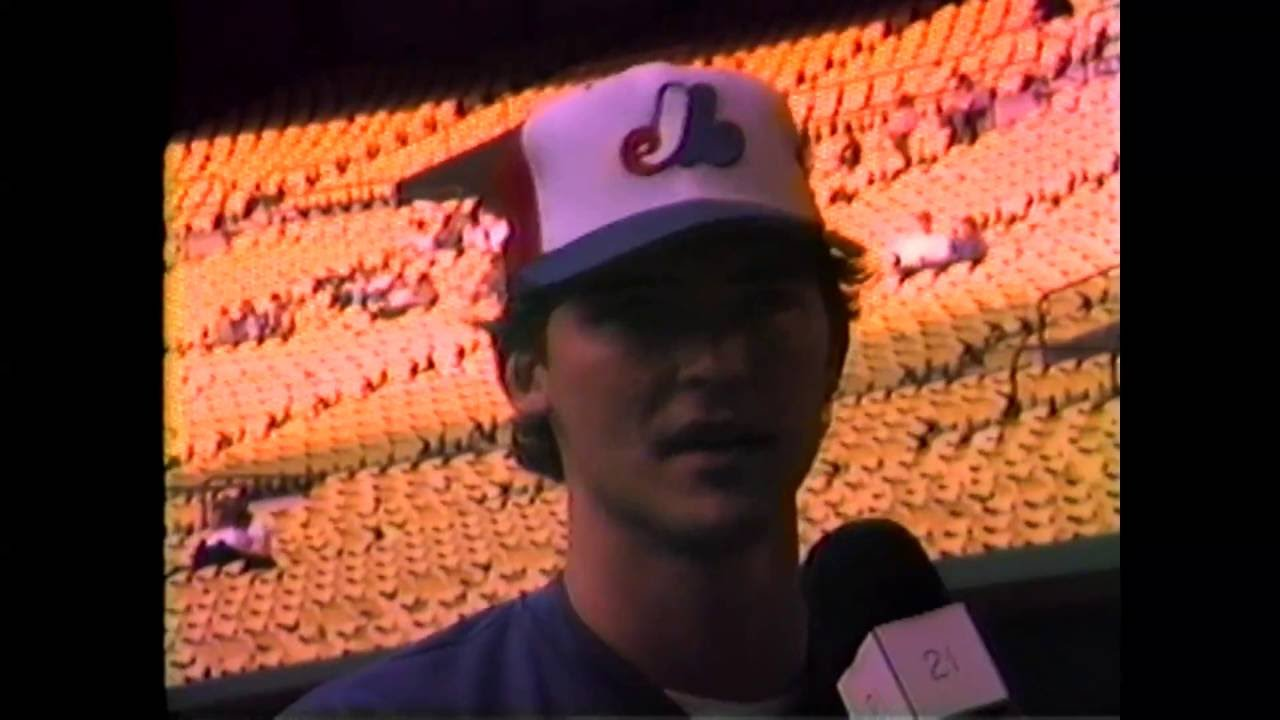 Montreal Expos - Mike Fitzgerald - 1985