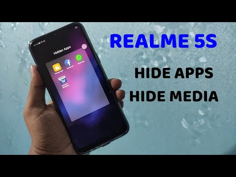 REALME 5S : HIDE APPS, PHOTOS AND VIDEOS