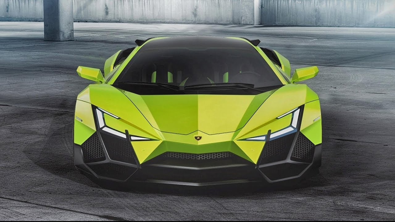 Killer Concepts | The Lamborghini Forsennato - YouTube on