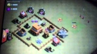 Como sacar Castillo Del Clan en Clash Of Clans
