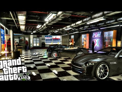 Simeon Dealership Enhanced - GTA 5 PC MOD