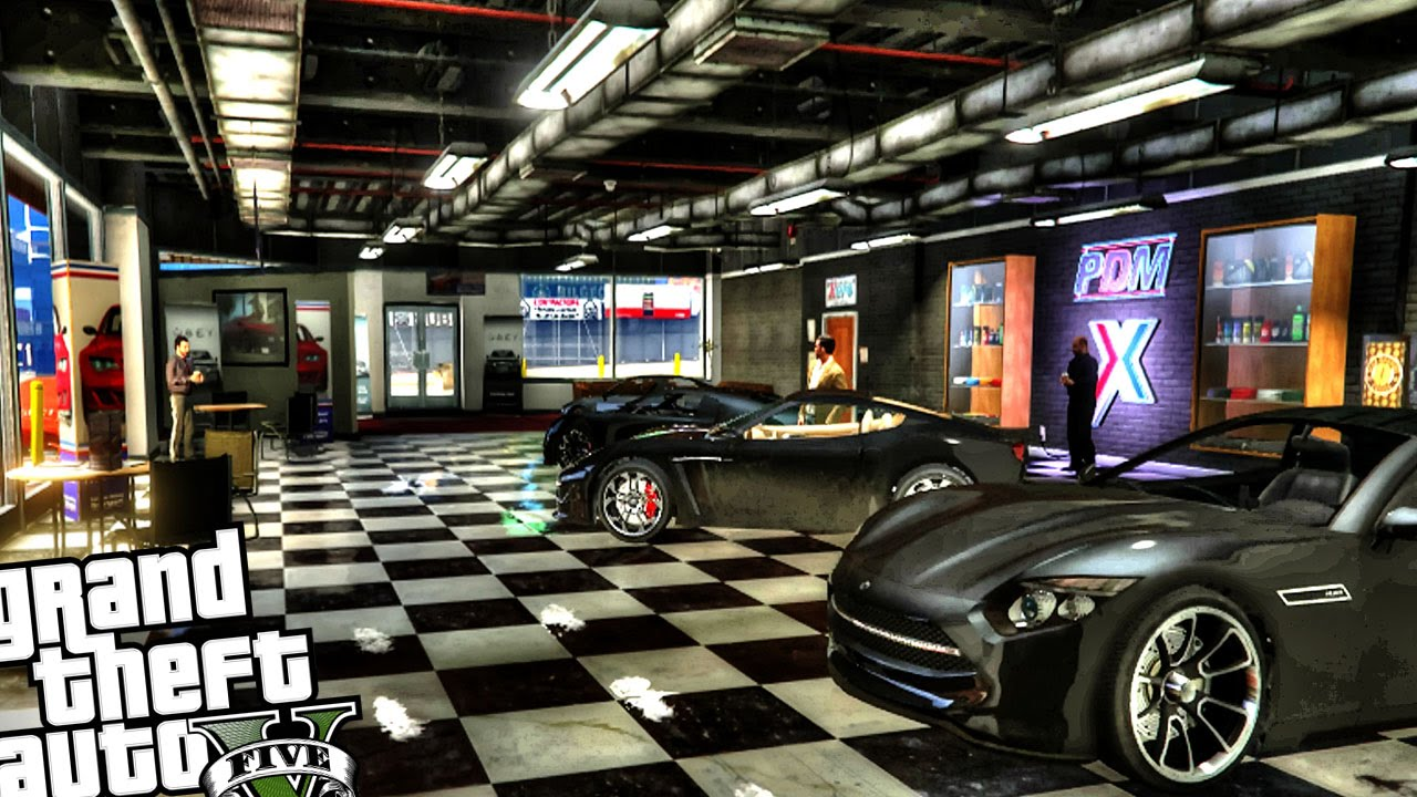 Car Dealership Gta  Mod
