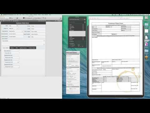 Webinar: Paper to iPad Demo (Claim Form)