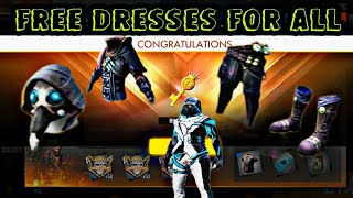 FREE DRESSES FOR EVERY PLAYERS - HOW TO COLLECT FREE DRESSES FROM FFWC EVENT | DEATH UPRISE,NEW SKIN