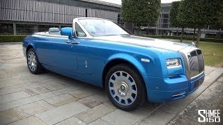 Rolls Royce Phantom Drophead Coupe Waterspeed Collection 2014 Videos