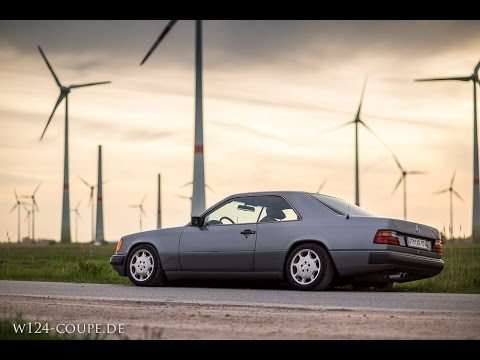 Mercedes W124 Coupe 300CE - stanced Benz from lower Saxony / Germany | Tuning Video