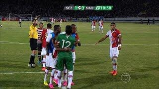 Melhores Momentos - Santa Cruz 1 x 3 Náutico - Brasileirão Serie B 2015