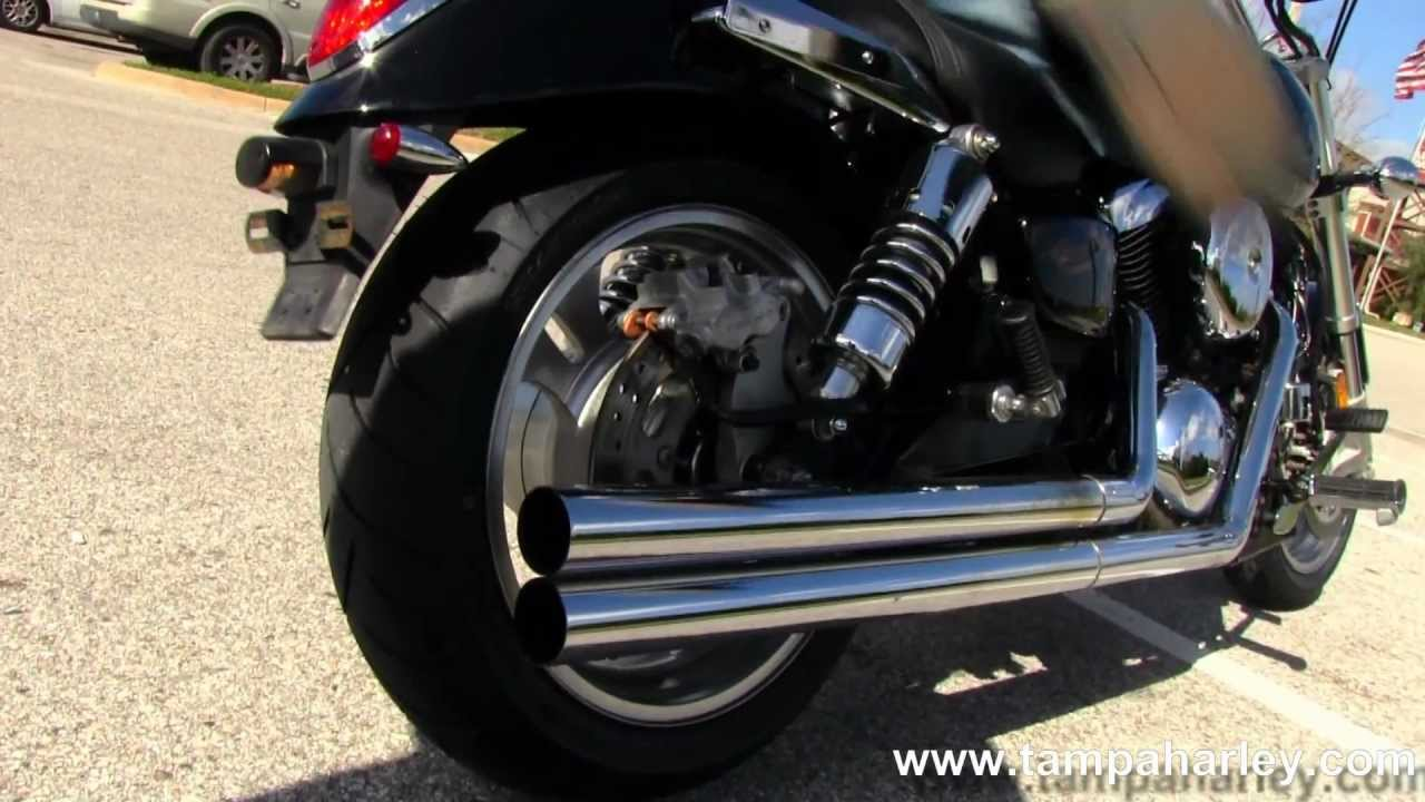 Used 2006 Kawasaki Mean Streak 1600 With Cobra Exhaust For Sale
