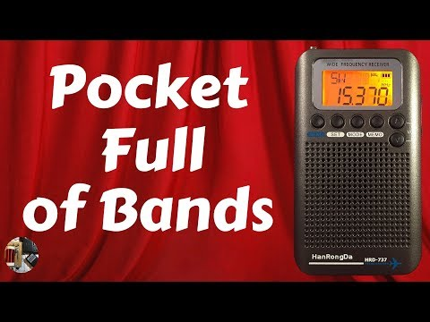 HanRongDa HRD-737 AM FM SW AIR VHF CB Portable Radio Review