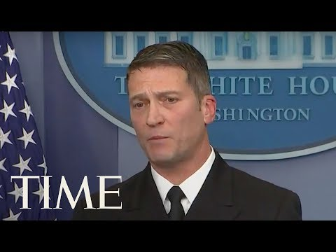 White House Doctor Holds Press Briefing After President Trump