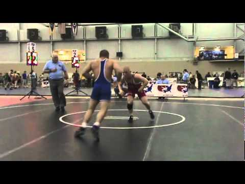 University Freestyle 74kg   Andrew Howe vs  James Vollrath