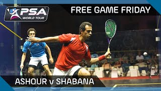 Squash: Free Game Friday - Ashour v Shabana - El Gouna 2014