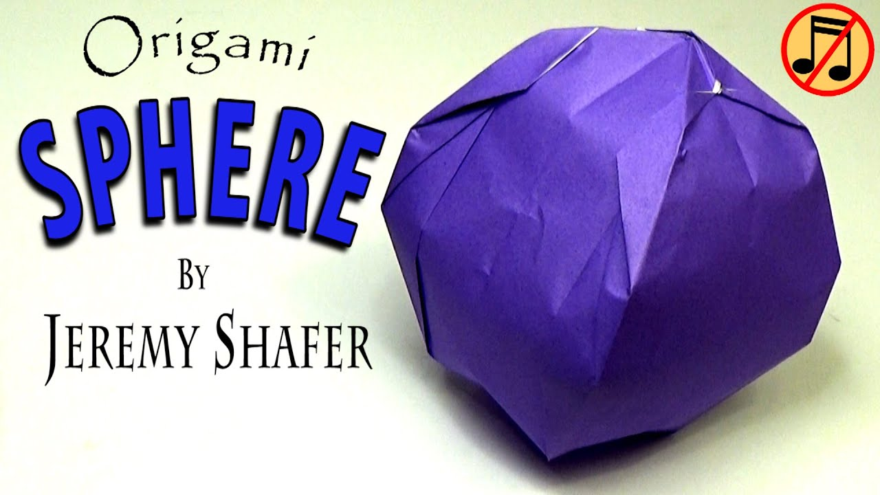 Origami Inflatable Sphere